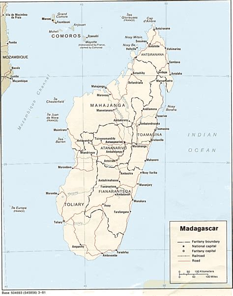 madagascar map nationmaster maps of madagascar 14 in total