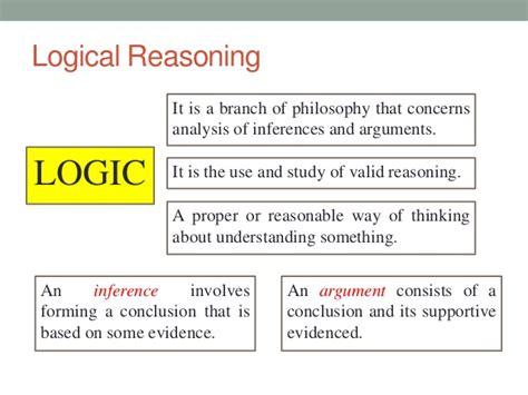logic logic and logic chapter 4 logical reasoning