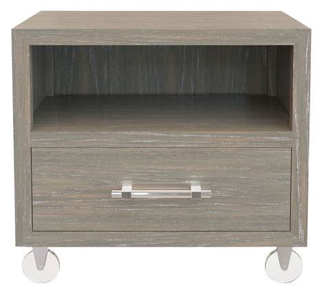 Nightstand With Wheels by Nightstand With Caster Wheel Bernhardt Hospitality