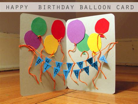 Papercraft Happy Birthday - craft a handmade birthday card i mgood
