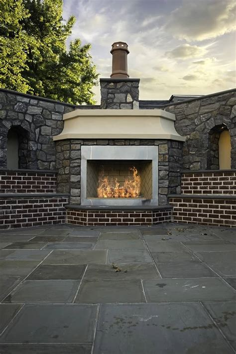 Fireplace Staten Island by Custom Built Fireplaces Firepits And Pizza Ovens Staten