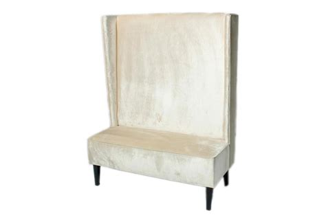 High Back Banquette Bench by Dutches High Back Banquette Lounge Efr 888 247 4411