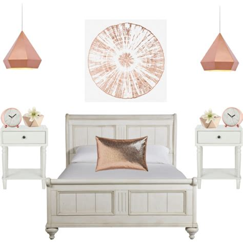 gold bedroom accessories rose gold room decor polyvore