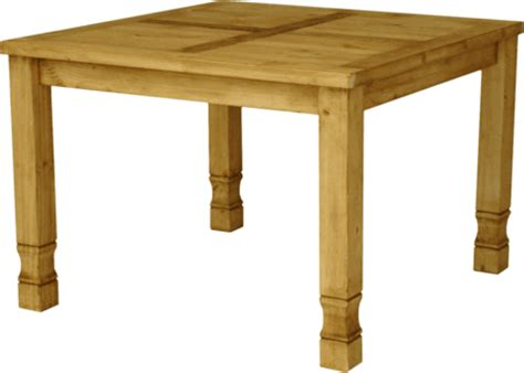 rustic square dining table square pine dining table