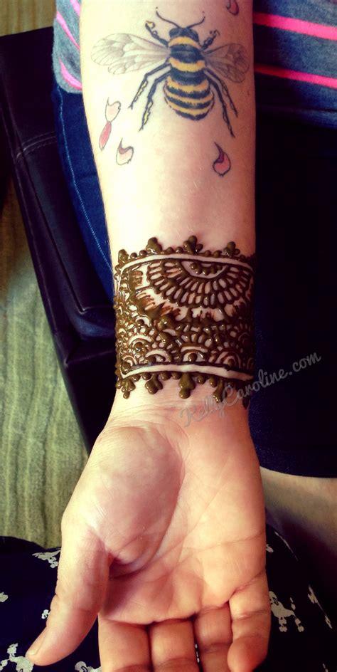 cuff tattoos henna tattoos archives caroline caroline