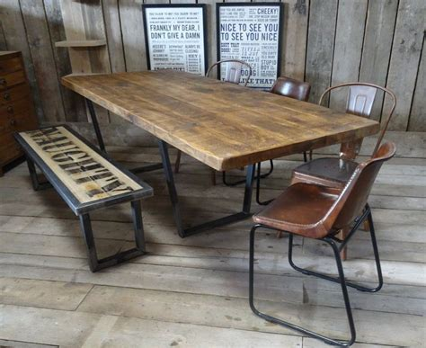 industrial kitchen table furniture lewis calia style extending vintage industrial