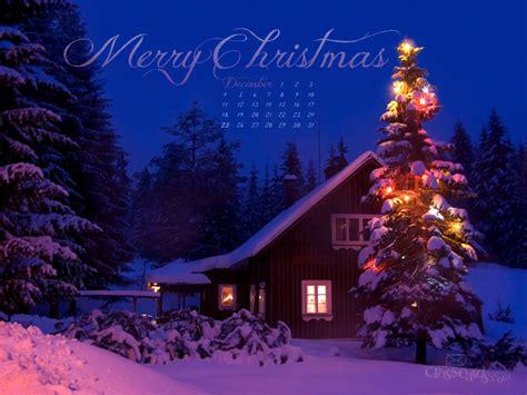 dec  merry christmas desktop calendar  monthly calendars wallpaper