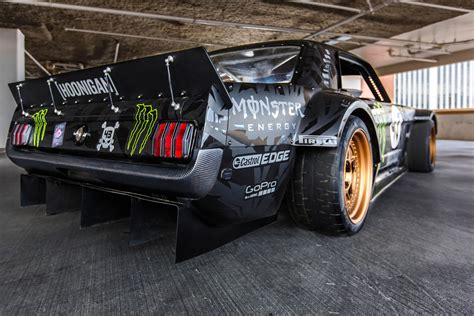 hoonigan mustang suspension 845hp 1965 ford mustang awd monster is ken block s car for