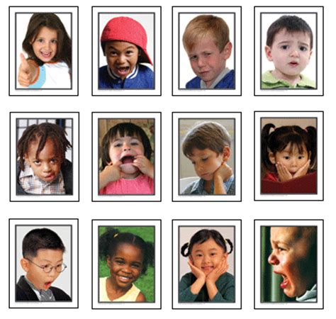 kids emotion faces found on missiekrissie blogspot it new york moments creativity in the classroom part 2