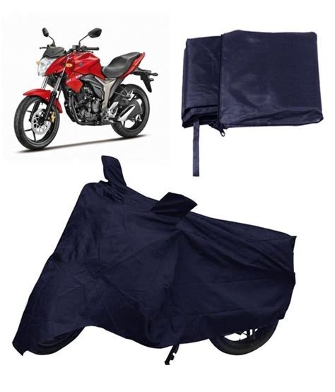 capeshoppers bike body cover blue  suzuki gixxer