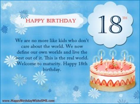 Happy Birthday Quotes 18 Year 18th Birthday Grandson Quotes Quotesgram
