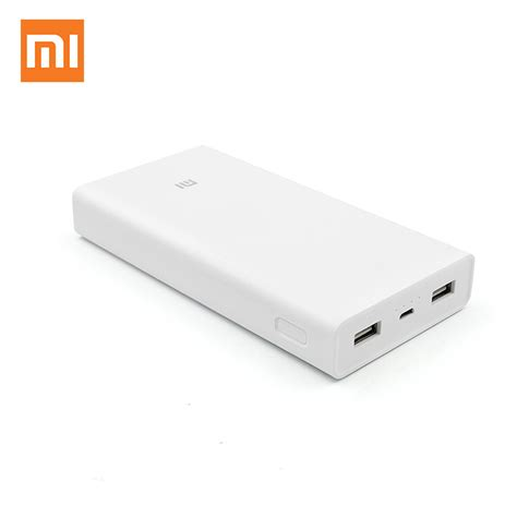 Power Bank Xiaomi 20000 Mah xiaomi power bank 20000 mah external battery portable charger dual usb powerbank 20000mah for