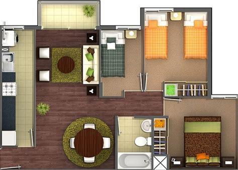apartamento de 3 habitaciones planos de apartamentos de 3 habitaciones
