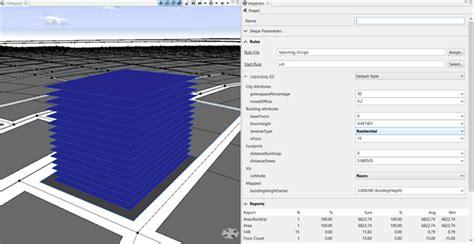 arcgis representations tutorial tutorial 11 reporting cityengine tutorials arcgis desktop