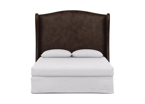 headboard l shop kayla leather headboard beds