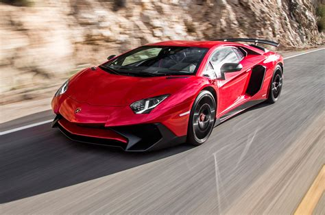 Lamborghini Adventor 2015 Lamborghini Aventador Sv Test Review