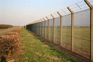 perimeter fence perimeter fence 169 richard geograph britain and ireland