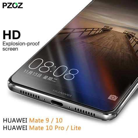 4d Tempered Glass Huawei Mate 10 Cover 9h Anti Gores Kaca pzoz huawei mate 9 glass tempered cover prime screen protector for huawei mate 10 pro clear