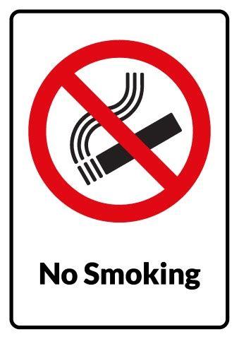 no smoking sign template no smoking sign template how to make a no smoking sign