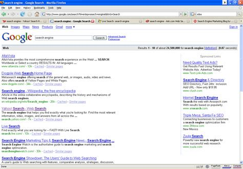 Search In The Ranks Altavista As Number One Search Engine Ineedhits