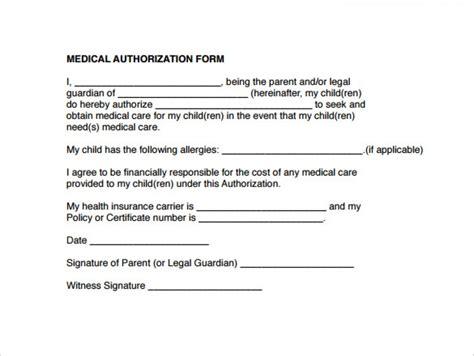 authorization letter for grandparent form templates authorization form