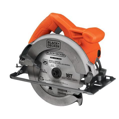 black and decker small circular saw black decker cs1014 circular saw 12 amp 7 1 4 in