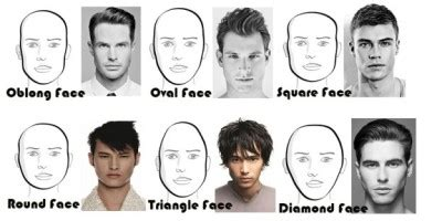 haircut face shape guide hairstyles for men according to face shape