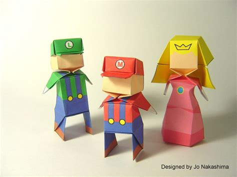 Boy Origami - origami origami boy and princess designed