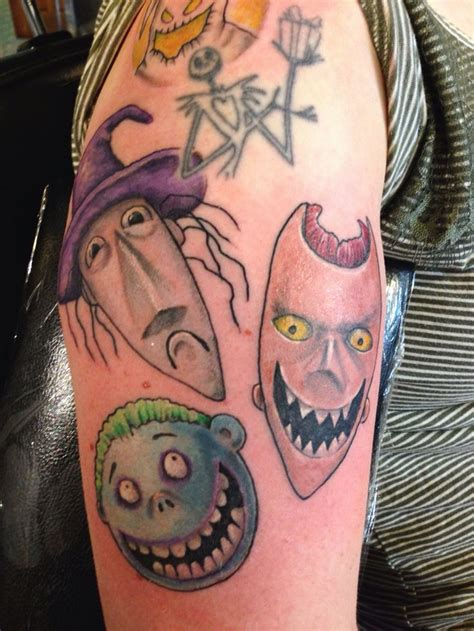 tattoo nightmares tattoo gallery nightmare before christmas lock shock barrel by nick puma
