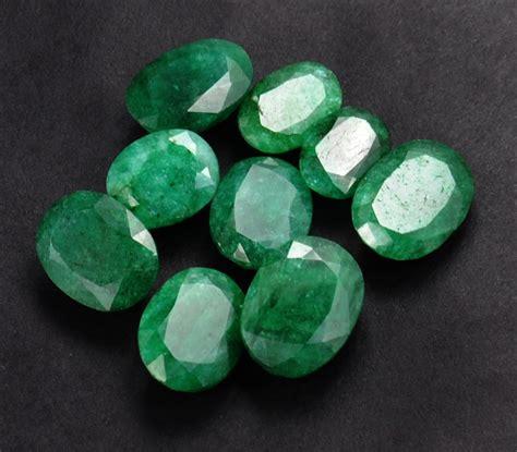 buy  ct certified emerald gemstone lot buy