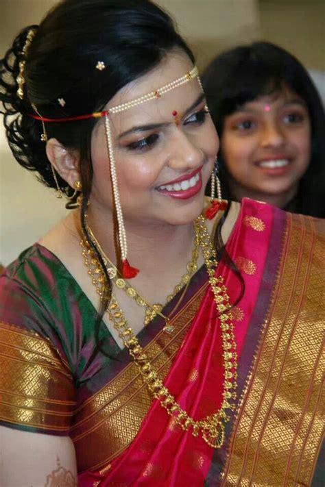 bridal hairstyles marathi marathi bride awsum indian weddings pinterest brides