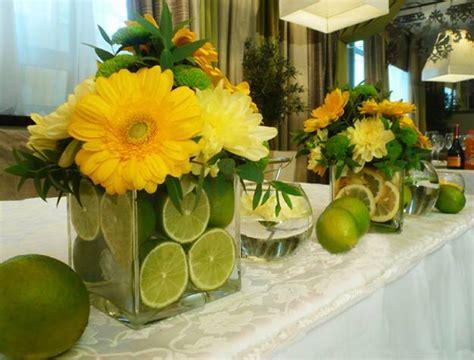 Lorfuloral Arrangements With Lemons Creating