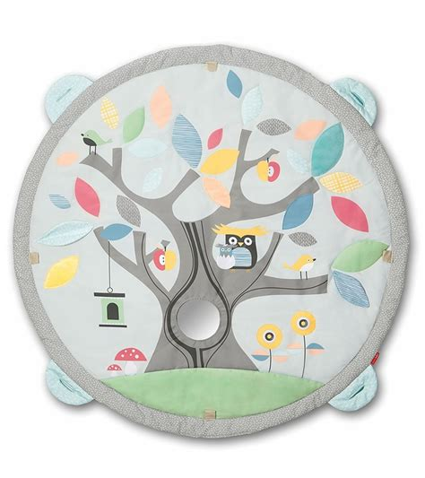 Skiphop Treetop Friends Soft Activity Book 1 skip hop treetop friends activity grey pastel