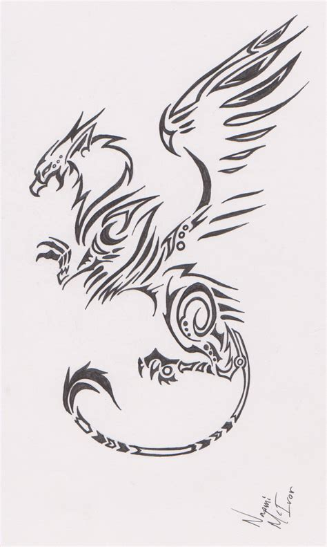 tattoo pictures and ideas tribal griffin tattoo