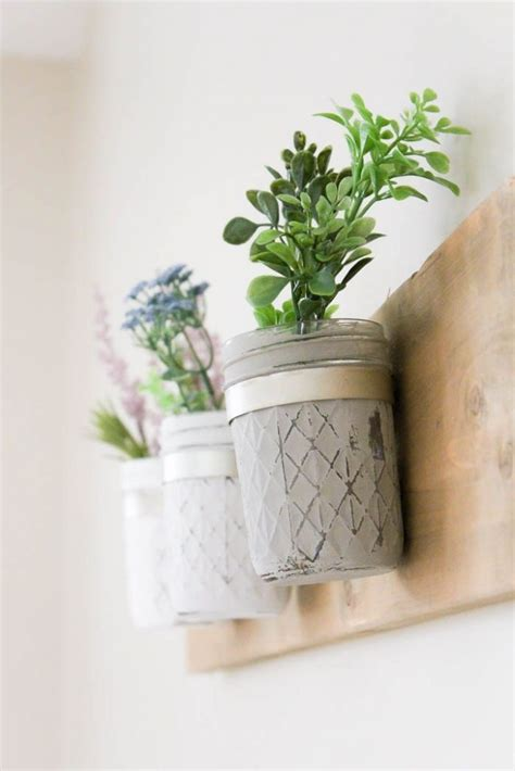 jar wall planter 9 stunning wall planters easy decor ideas lolly