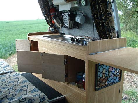 Under The Kitchen Sink Storage Ideas by Campervan Conversion The Furniture And Storage