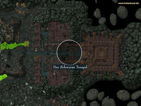 Der Schwarze Tempel Landmark Map Guide Freier Bund