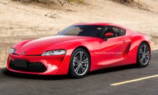 Bmw Toyota Supra Toyota Supra And Bmw Z4 Getting Ready For 2018 Launch