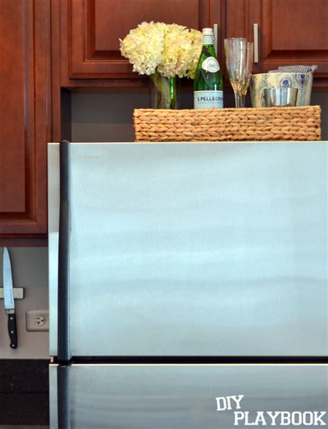 top of fridge storage 7 smart ways to save a ton of space in your small kitchen