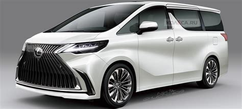 lexus mpv 2020 new lexus minivan could look like this if based on toyota
