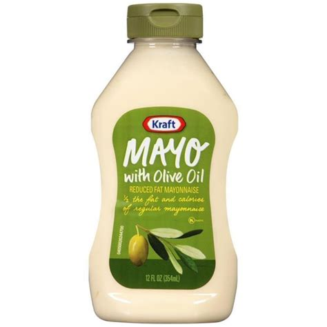 Kraft Real Mayo Mayonaise 354 Ml kraft mayo with olive 354ml 3 99