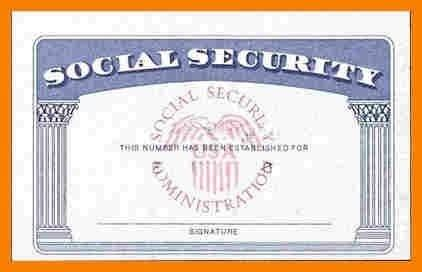 social security card template freeware blank social security card template
