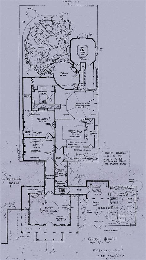 poltergeist house floor plan wedway radio home the ghost house haunted mansion