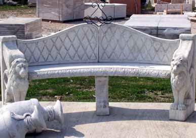 panchine in cemento prezzi giardino panchine mondragone ar09153