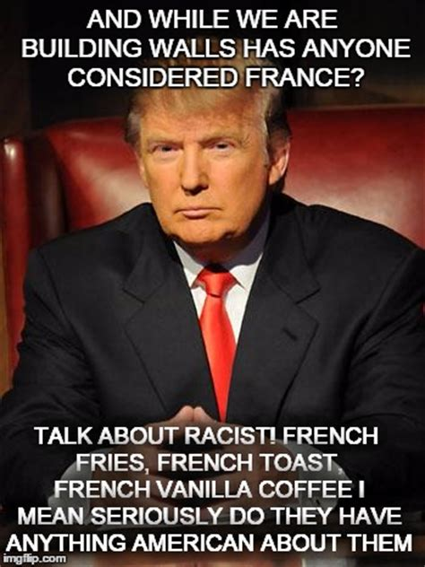 Meme Meaning French - serious trump imgflip