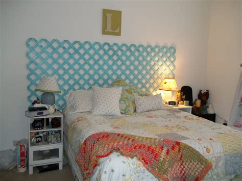 lattice headboard lattice headboard bedrooms pinterest
