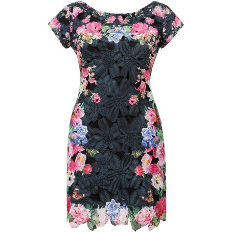 black pattern shift dress black lace floral shift dress black lace dresses online