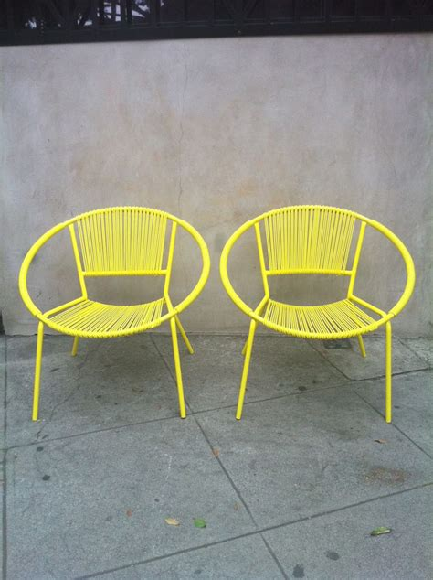 Patio Furniture Yellow Best 20 Yellow Outdoor Furniture Ideas On