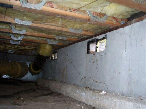 do i poor crawl space ventilation