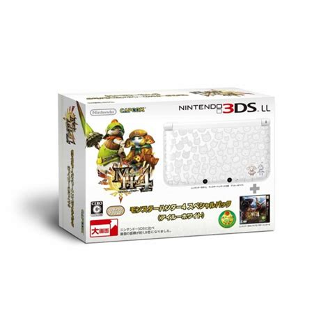 Anti Gores Nintendo 3ds Xl Limited nintendo 3ds ll 4 special pack felyne